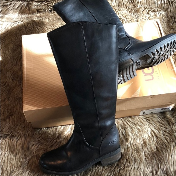 c3485b8c5cd Ugg Seldon Black Riding Boots. M 5ad690de85e60574744b9a0d